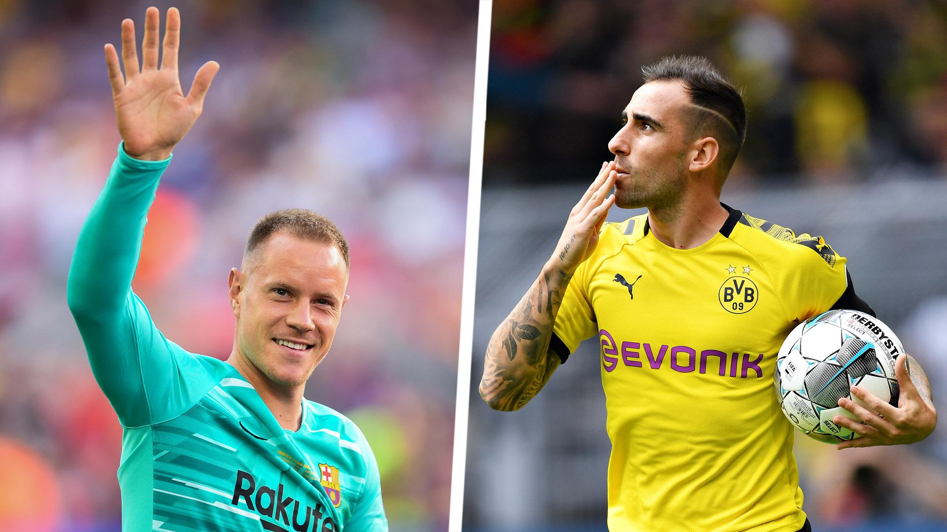 Ter Stegen hopeful 'phenomenal' Alcacer will pause his goalscoring streak against former club Barca