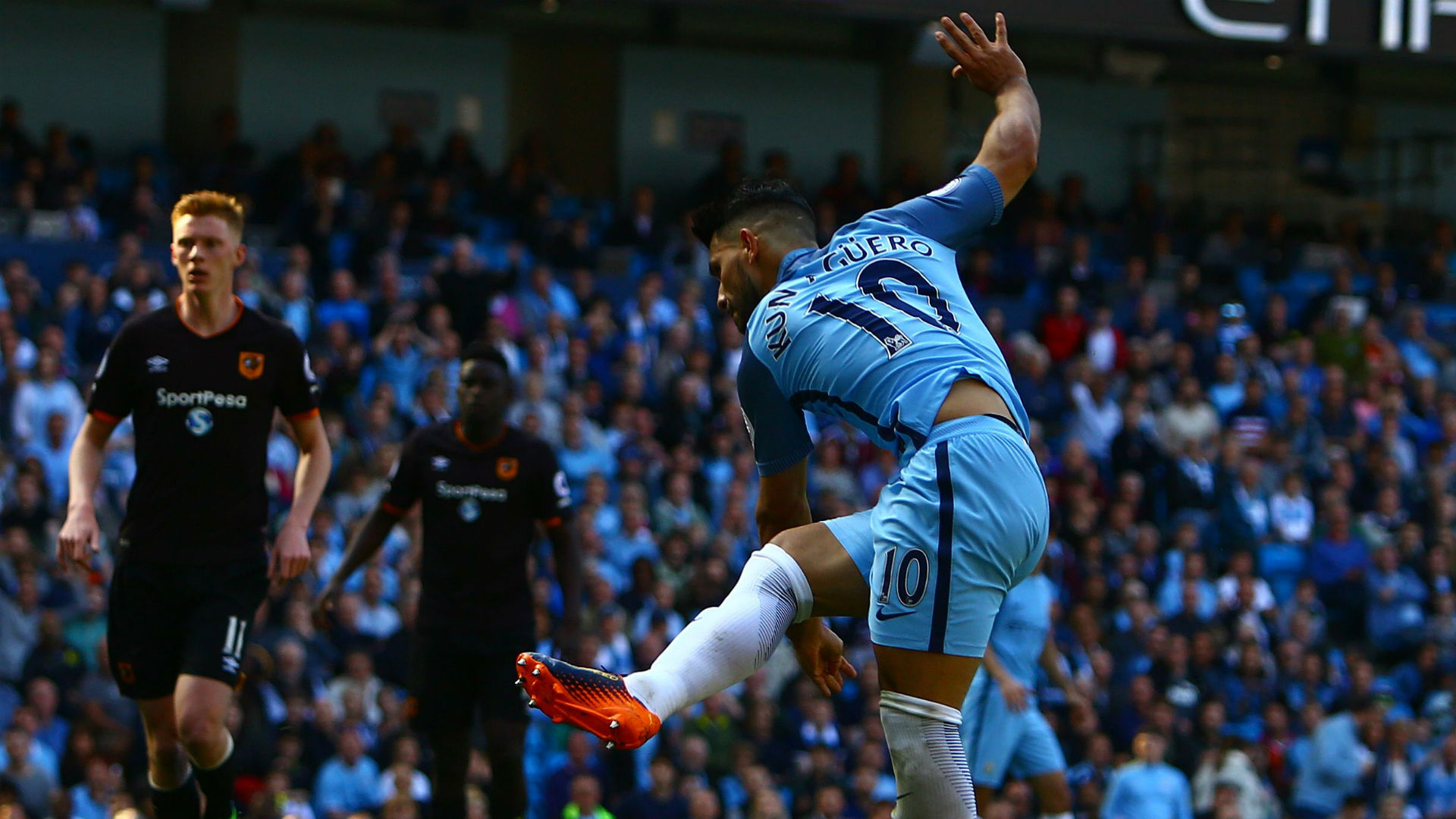 Sergio Aguero Manchester City 08042017