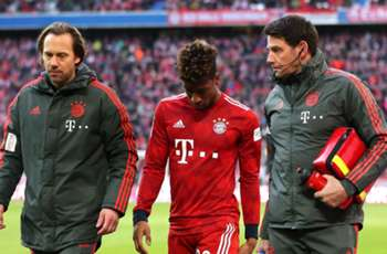 Coman forced off with hamstring injury as Bayern hold on to beat Hertha