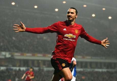 Zlatan en Pogba redden Man United