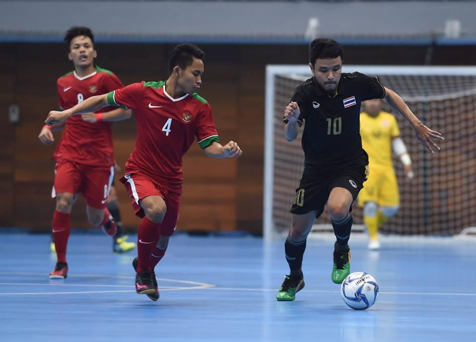 อินโดนีเซีย - ไทย   ฟุตซอล ซีเกมส์ 2017