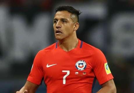 Alexis, al ritmo de Cristiano Ronaldo