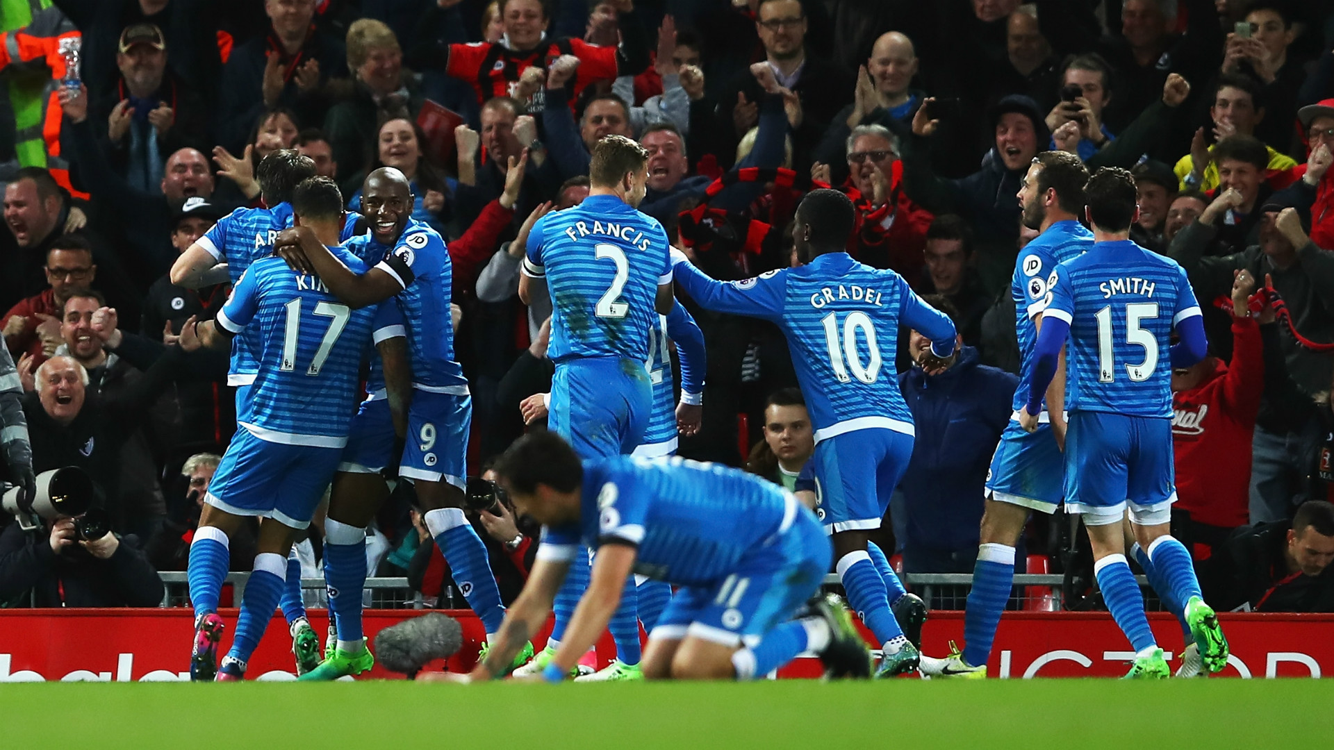 Bournemouth celebrate