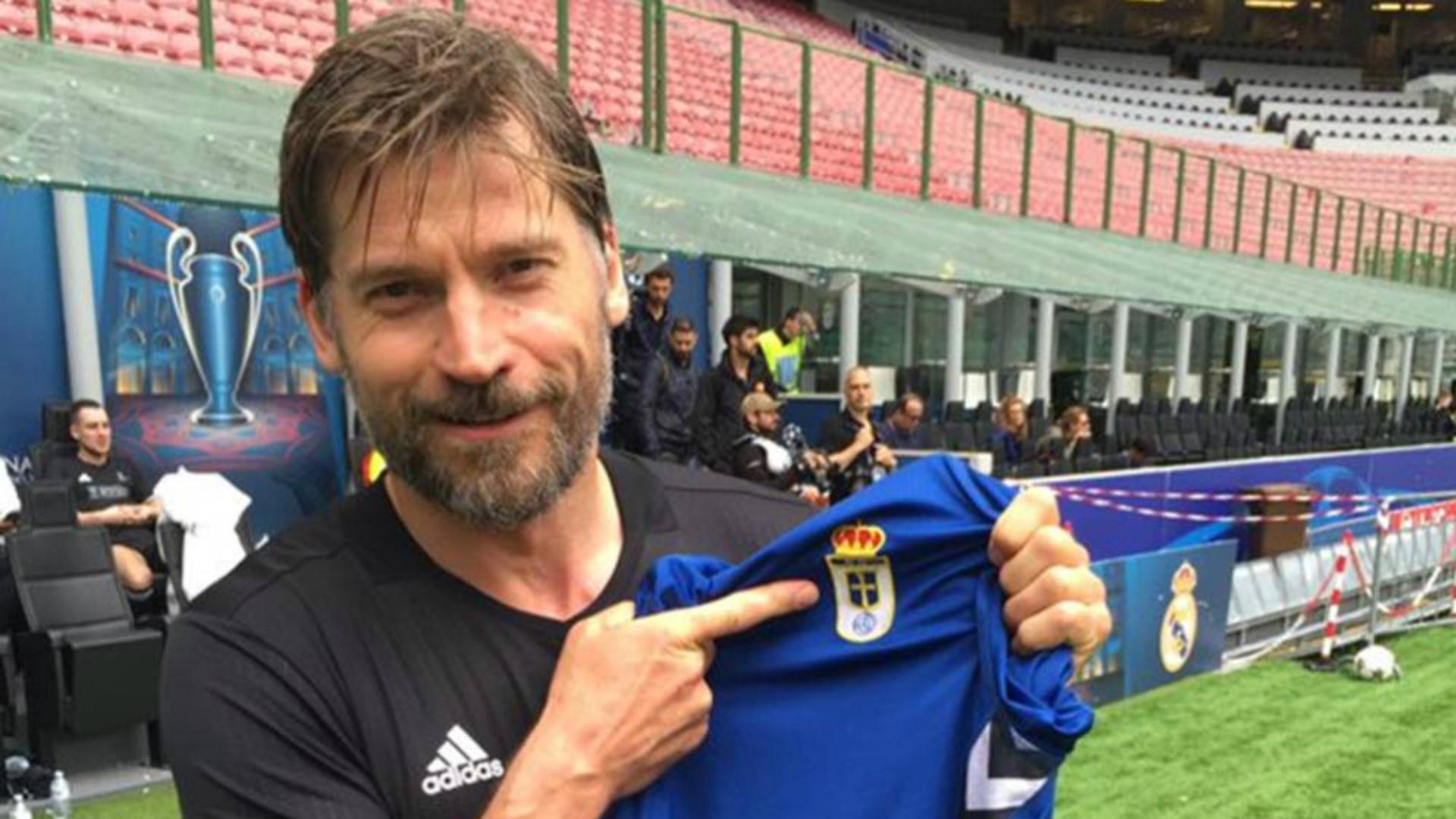 Game of Thrones Nikolaj Coster-Waldau Jamie Lannister Real Oviedo