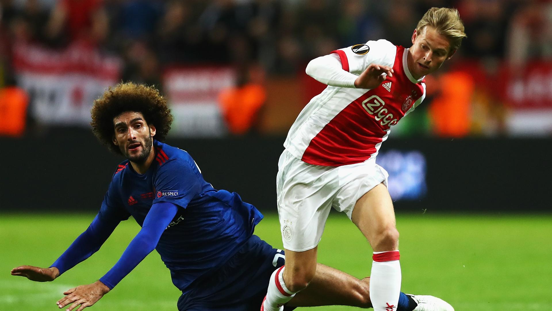 Frenkie de Jong Ajax Manchester United Europa League final