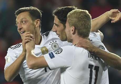 Duitsland wint in slotfase in Tsjechië