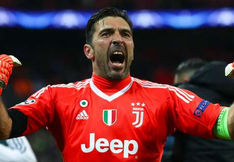Juve-Real, Buffon :