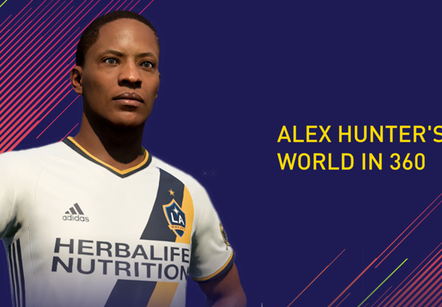 FIFA 18 Journey Mode: Explore the World of Alex Hunter in 360