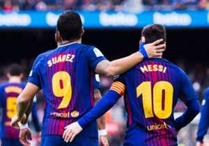 Am Samstag legte Messi per Traumpass Barcas Führung in Eibar durch Luis Suarez auf. Ohnehin ist Messi der Traumpartner des Uruguayers, wenn es um dessen Tore seit seiner Ankunft in Katalonien 2014 geht. Goal zeigt die Spieler mit den meisten Assists in...