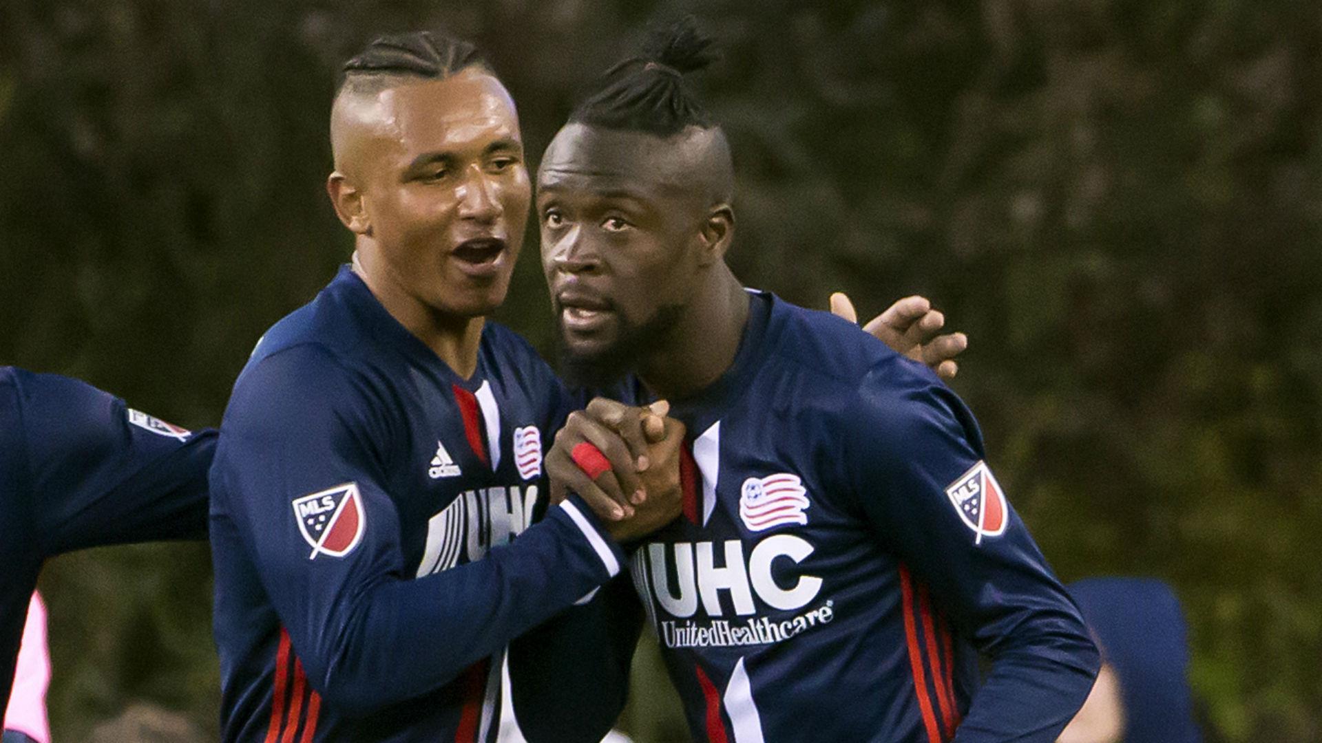 Juan Agudelo Kei Kamara New England Revolution MLS