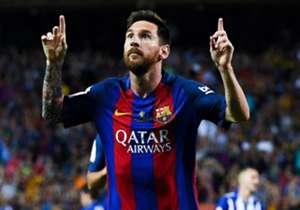 La Scarpa d'Oro resta a Barcellona: dopo la vittoria di Luis Suarez nel maggio del 2016, è Leo Messi a conquistare il trofeo per il miglior marcatore d'Europa. Quarta volta in carriera per il fuoriclasse argentino, che supera così Cristiano Ronaldo