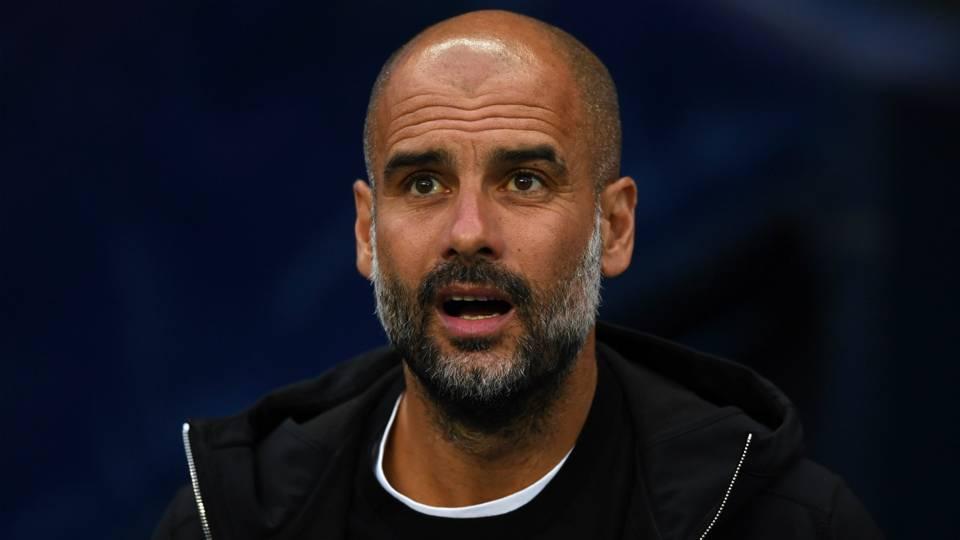 Pep Guardiola Man City 2017-18