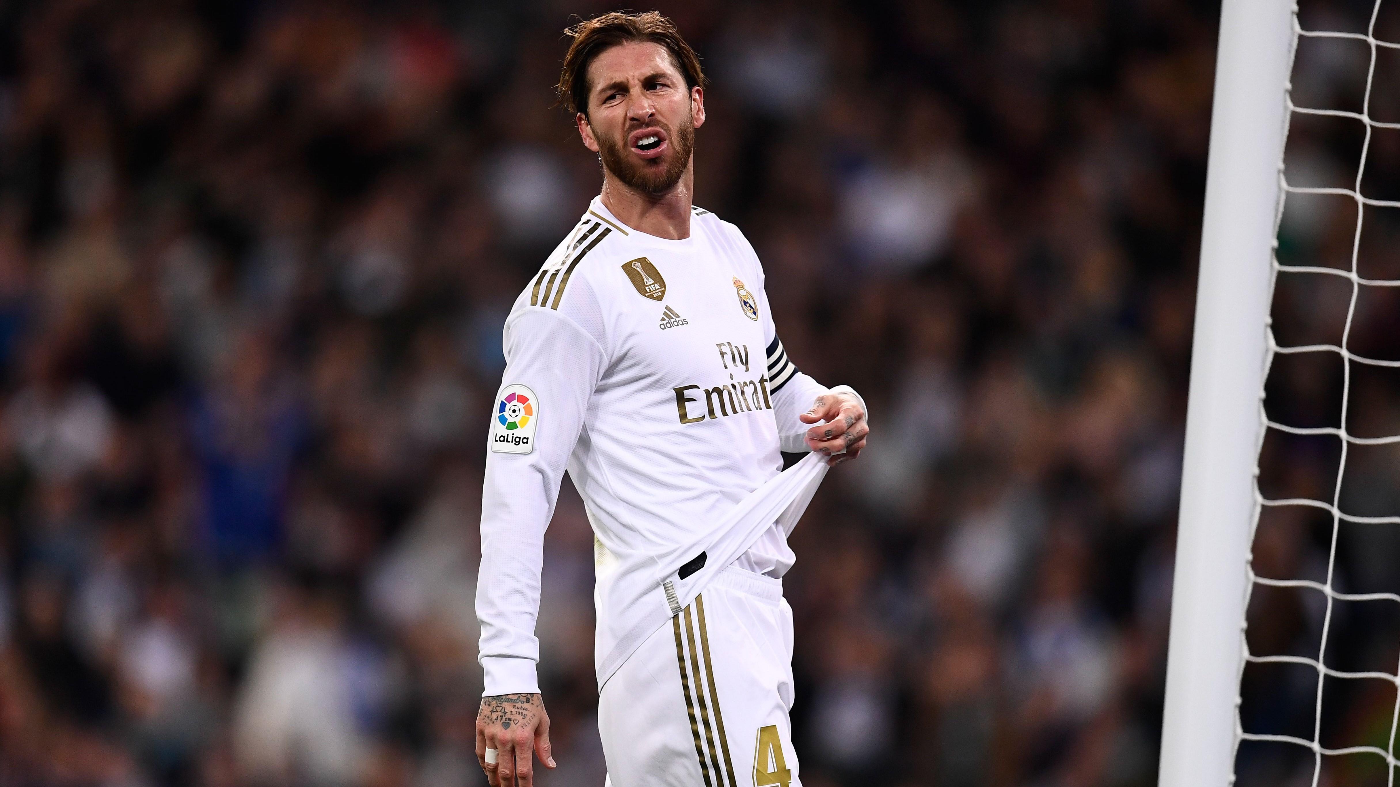 Real Madrid - Sergio Ramos déçu après le nul face au Bétis