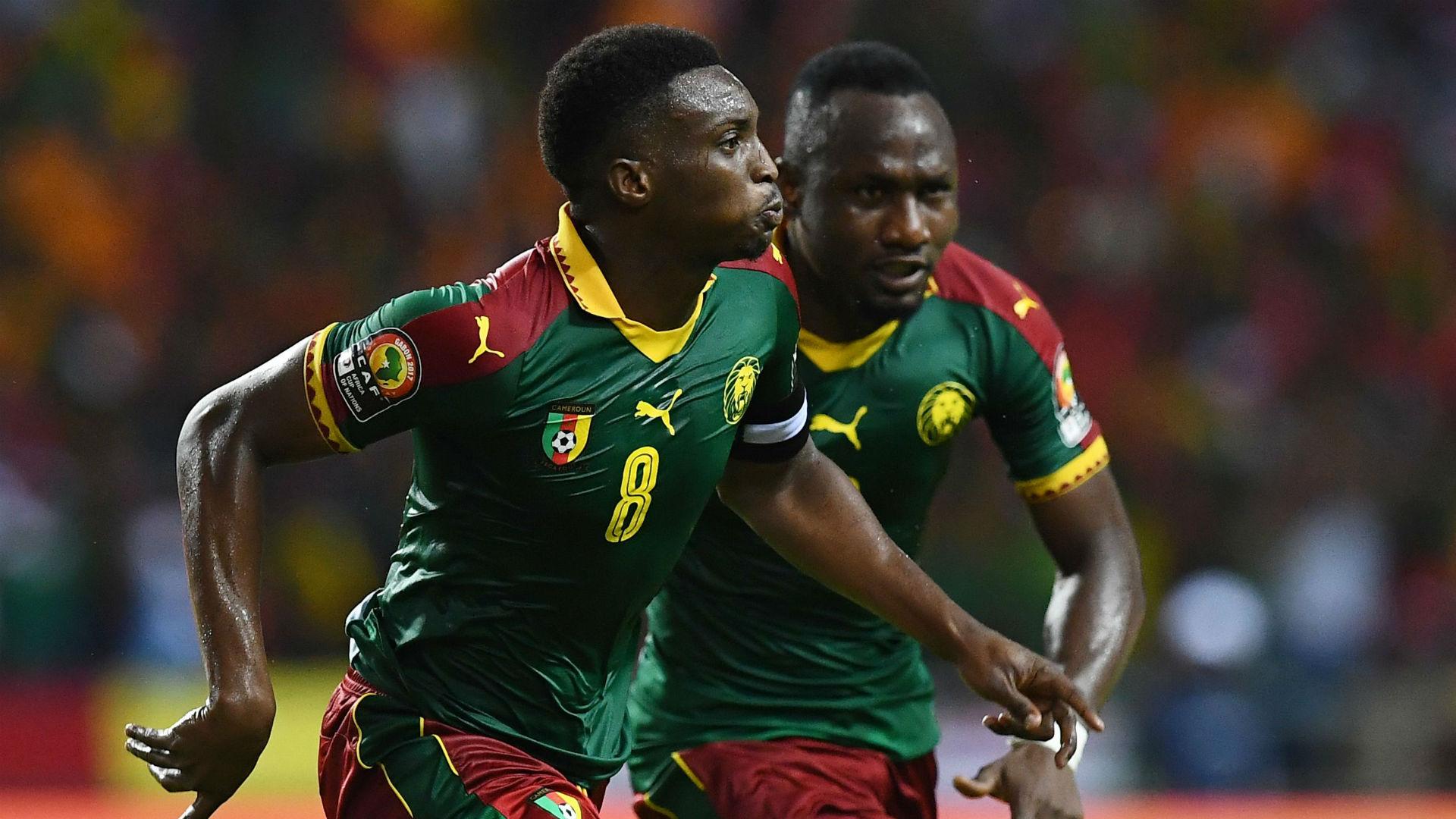 Benjamin Moukandjo Cameroon Burkina Faso