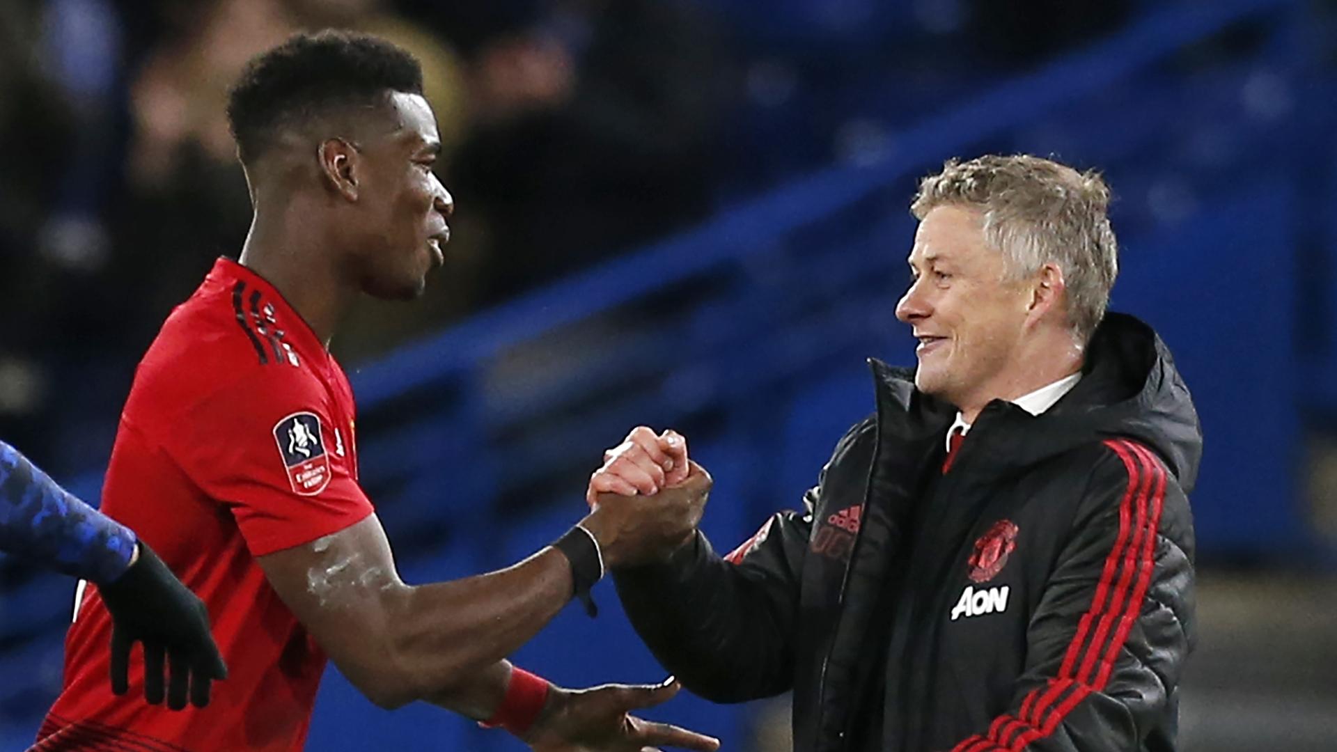 "Mercato - Manchester United, Ole Gunnar Solskjær : ""Paul Pogba n'a jamais été un problème"""