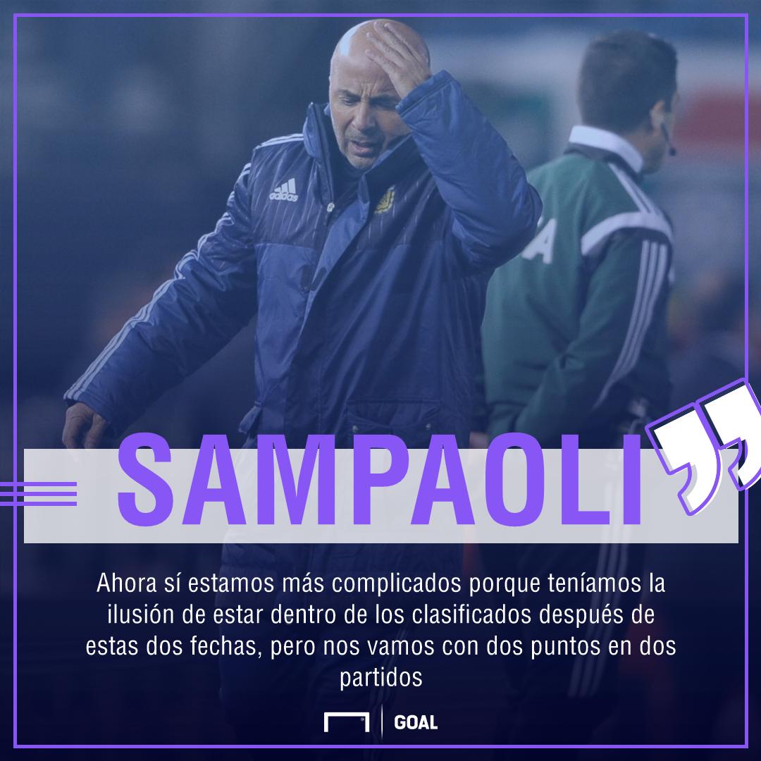 Jorge Sampaoli aclara supuesto altercado con Lionel Messi