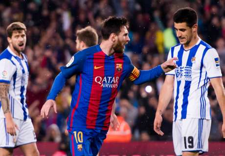 Messi in attack; messy in defence