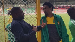 Rigobert Song and Francis Nkwain Rainbow Sports