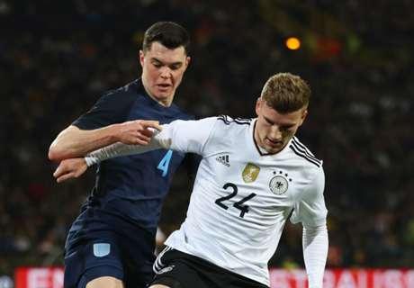 Keane: England debut a dream come true