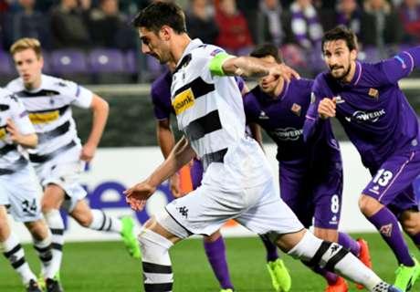 Dramatis, M'gladbach Tendang Fiorentina