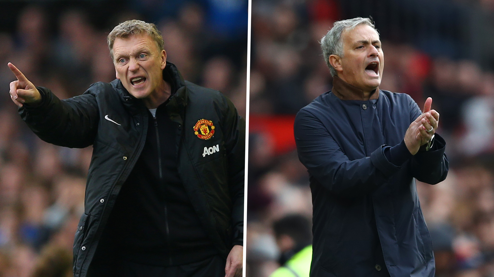 Moyes v Mourinho: How do the two managers compare at Manchester United?