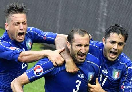 Italy gets sweet revenge on Spain