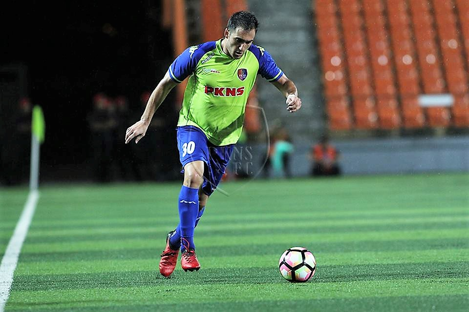 PKNS' Matias Jadue playing against Felda United 21/1/2017