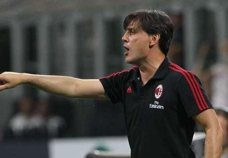 Montella happy with Milan progress