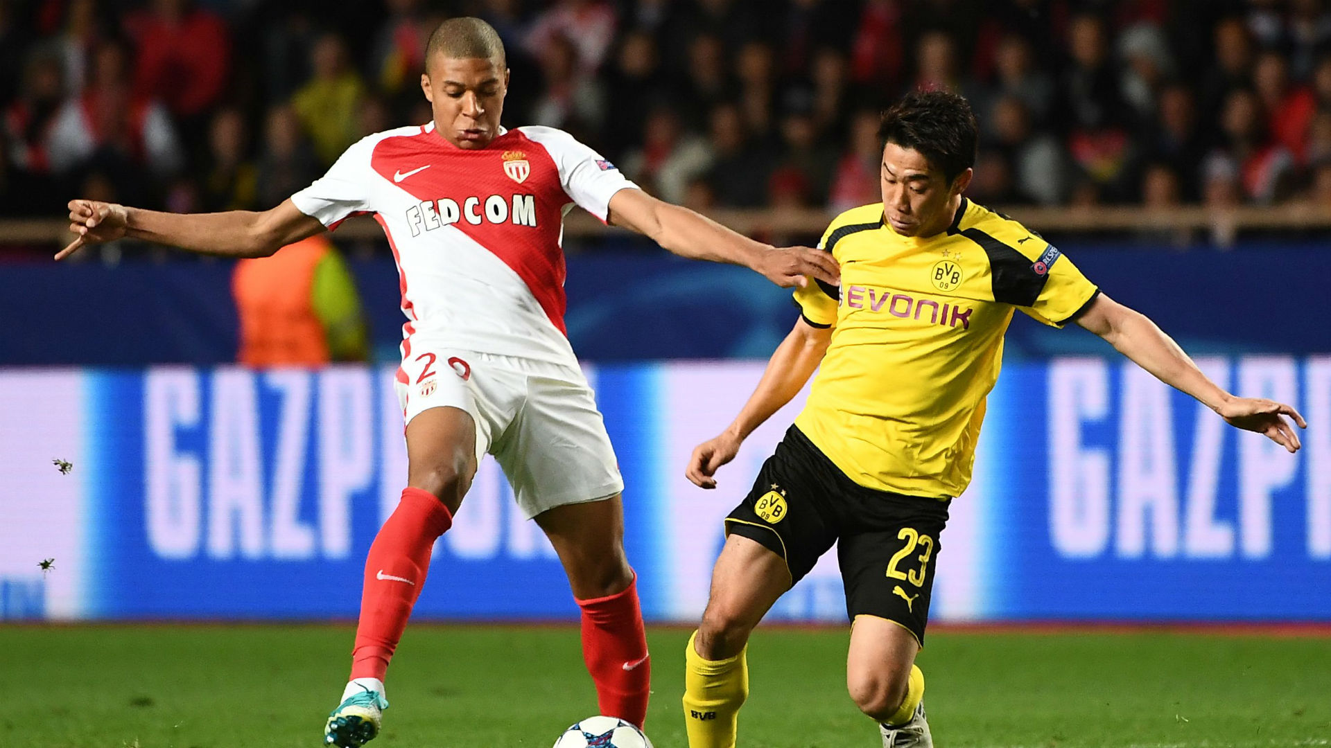 Monaco defeat Dortmund to advance to Champions League semis