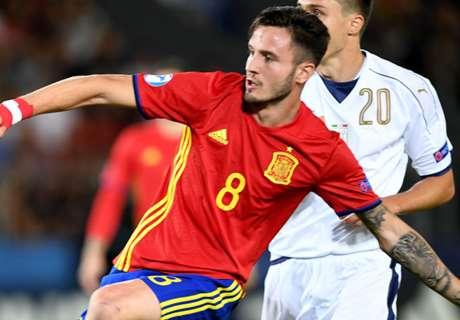 Jong Spanje in finale dankzij Saúl