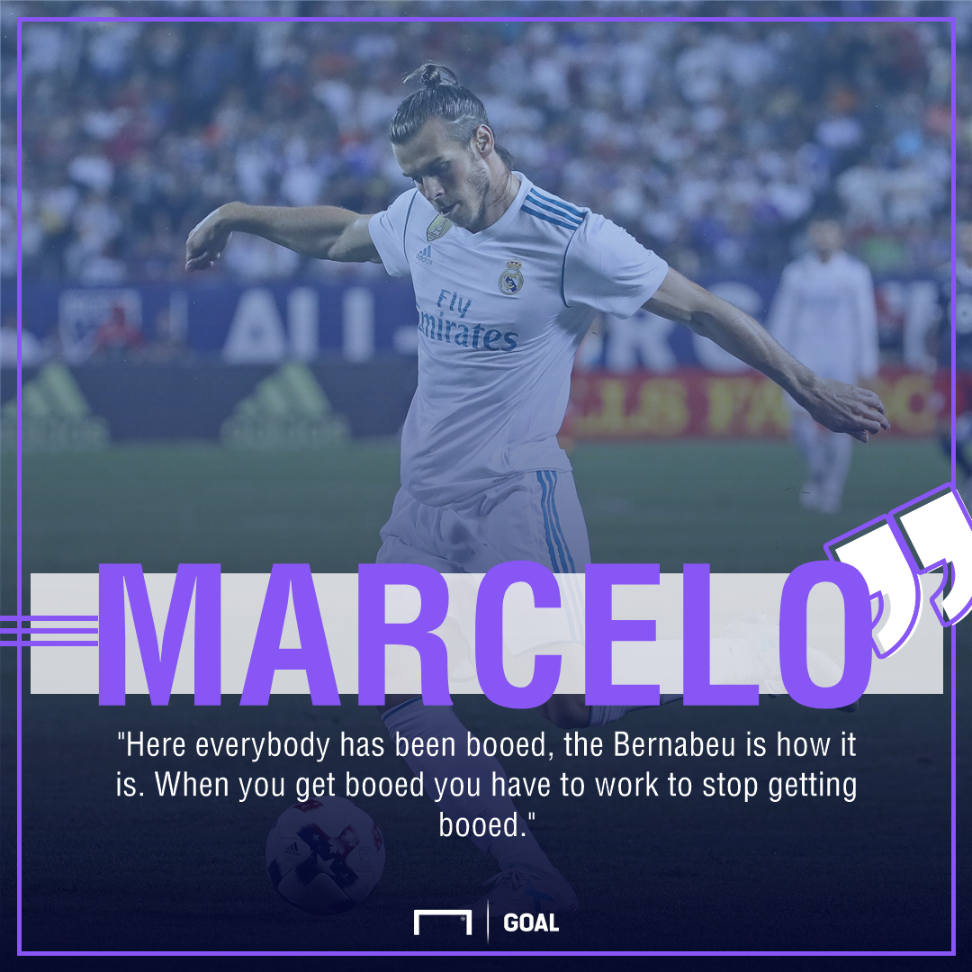 Bale challenged to silence Madrid boo boys by Marcelo