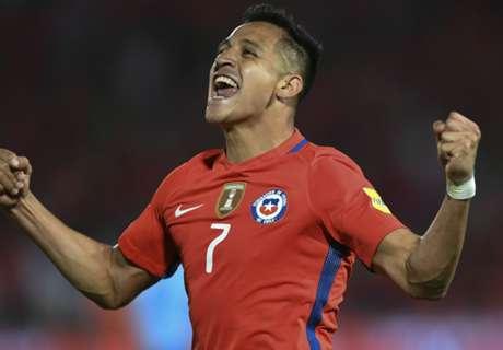 VIDEO - Sánchez opent score voor Chili