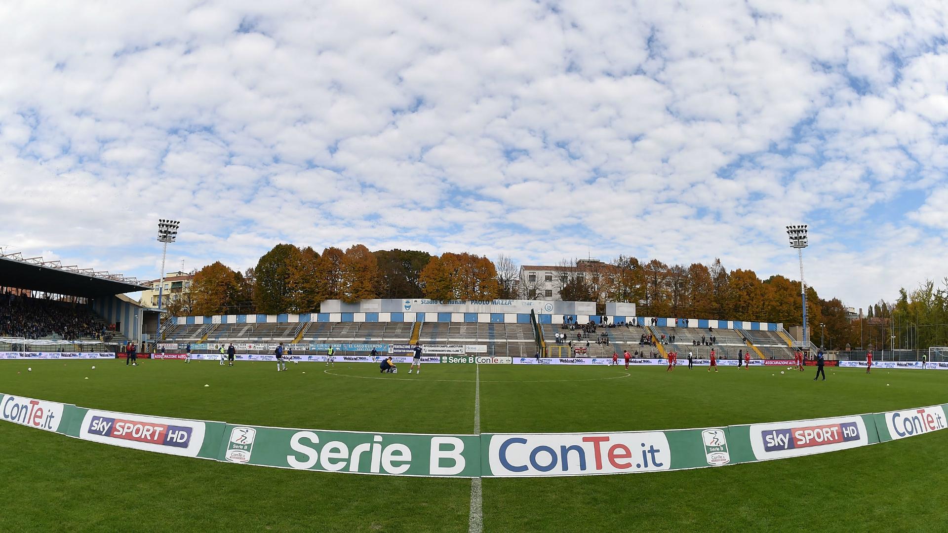 Serie B: Spal - Pro Vercelli 0-0