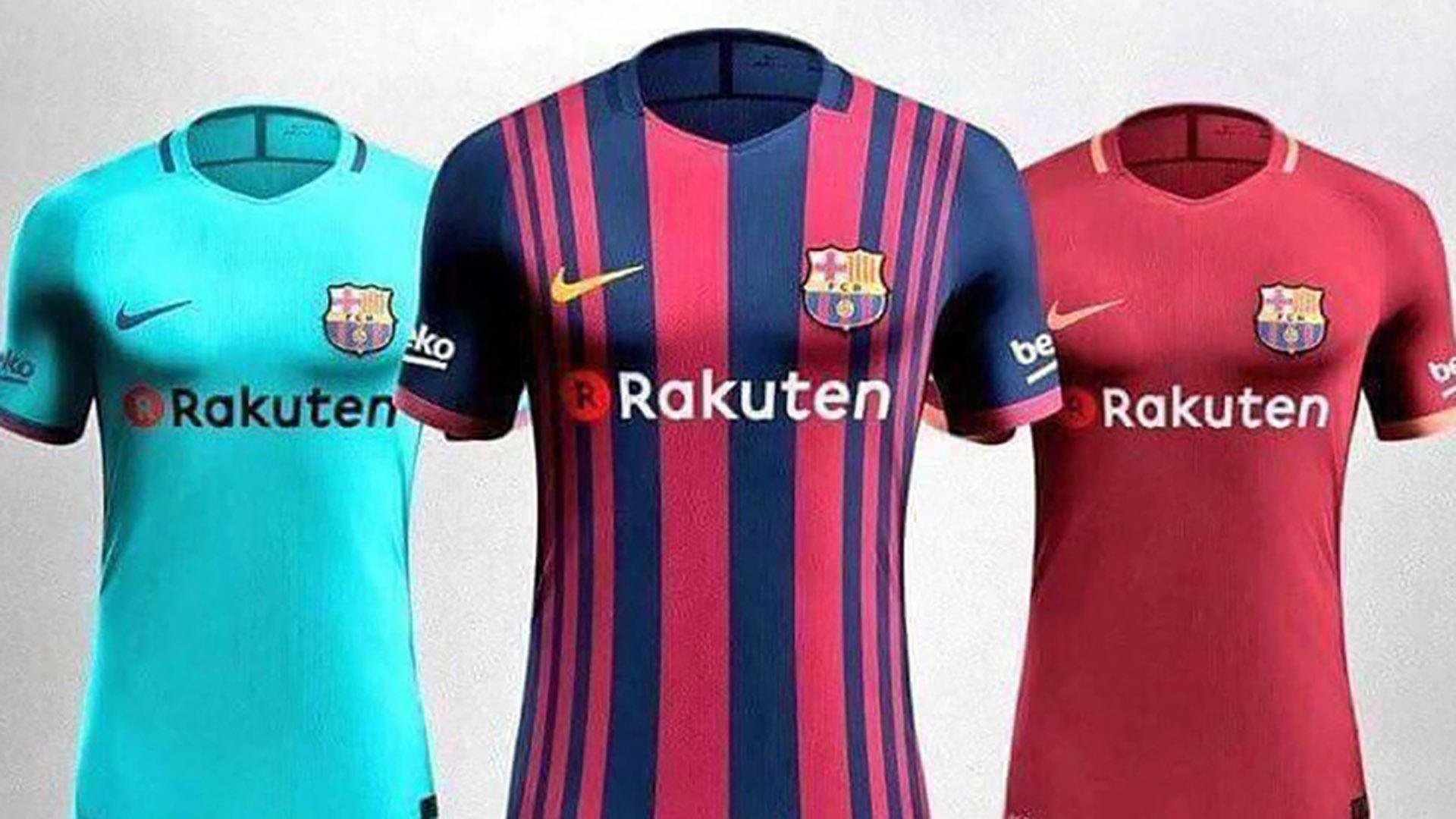Barcelona leaked kits