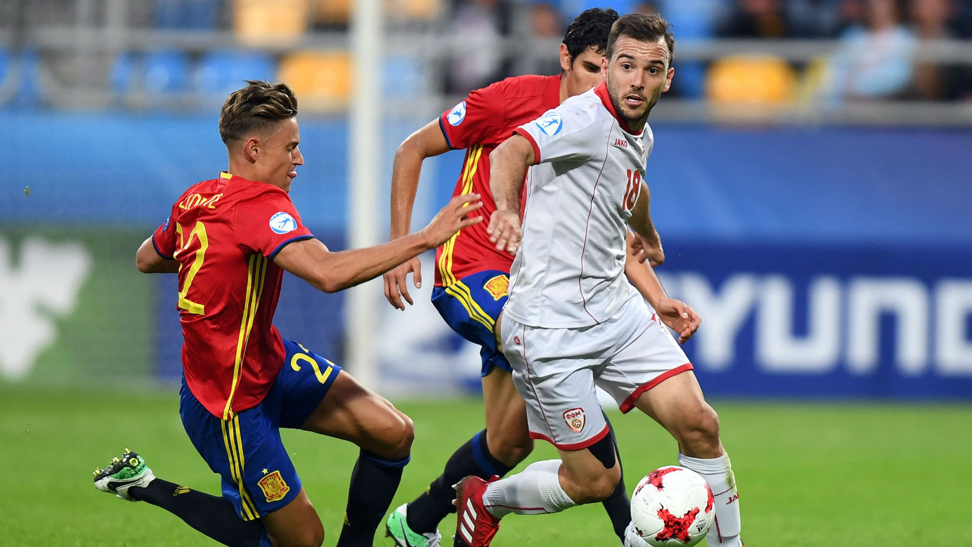 Spain 5-0 Macedonia Under-21