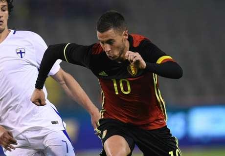 Amistoso: Bélgica 3-2 Noruega