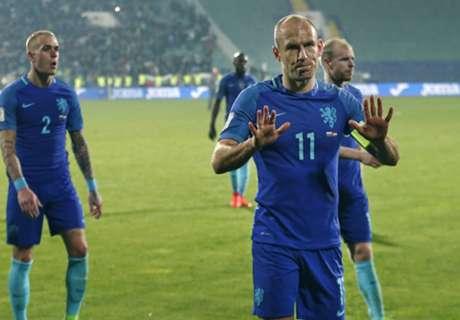 Robben sprakeloos: