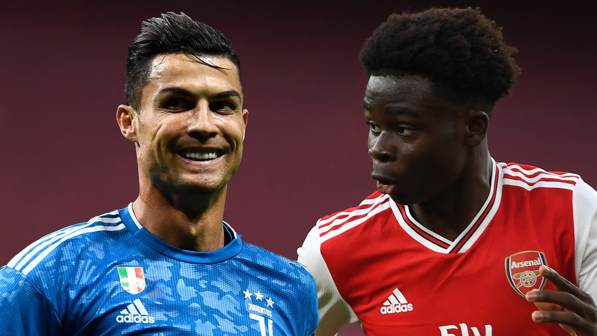 Ronaldo's my idol & I try to take things from his game - Arsenal teen sensation Saka