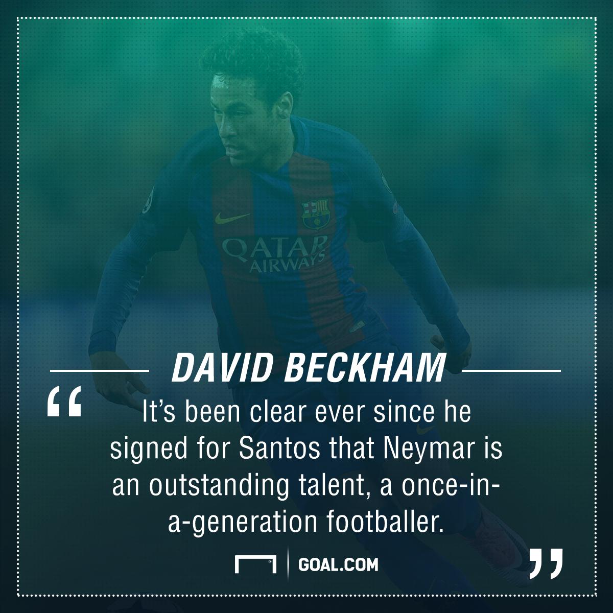 David Beckham Neymar