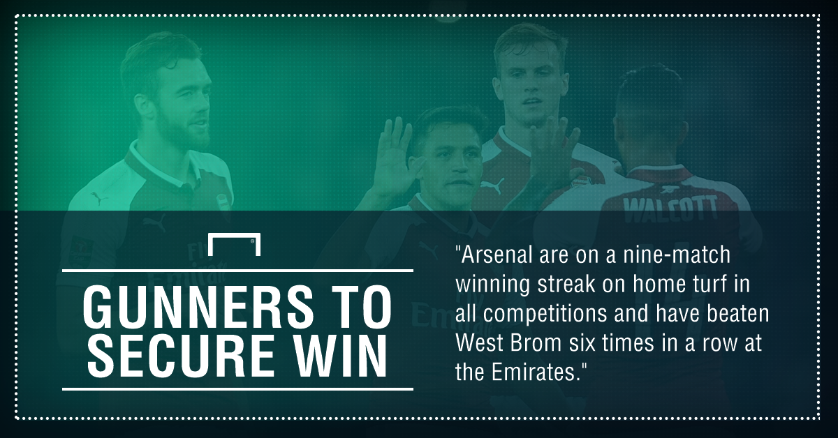 Arsenal West brom graphic