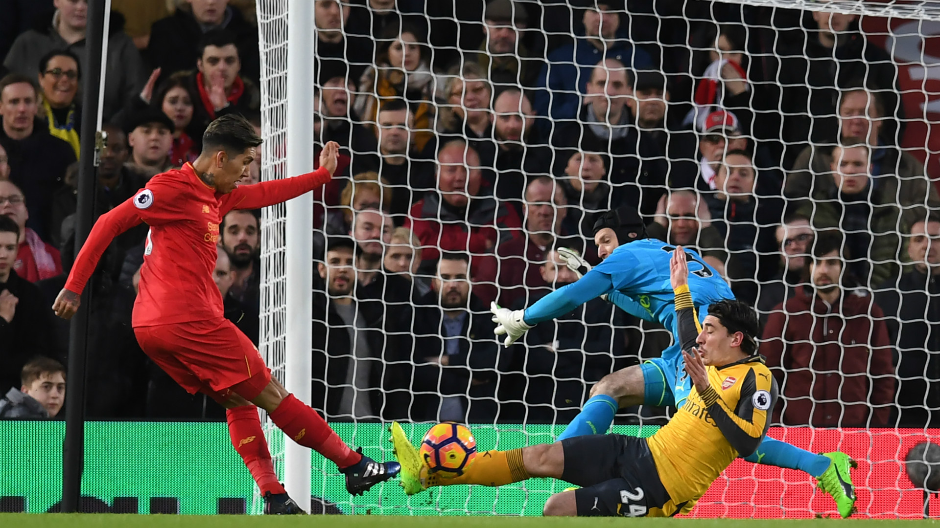 HD Firmino goal Liverpool v Arsenal