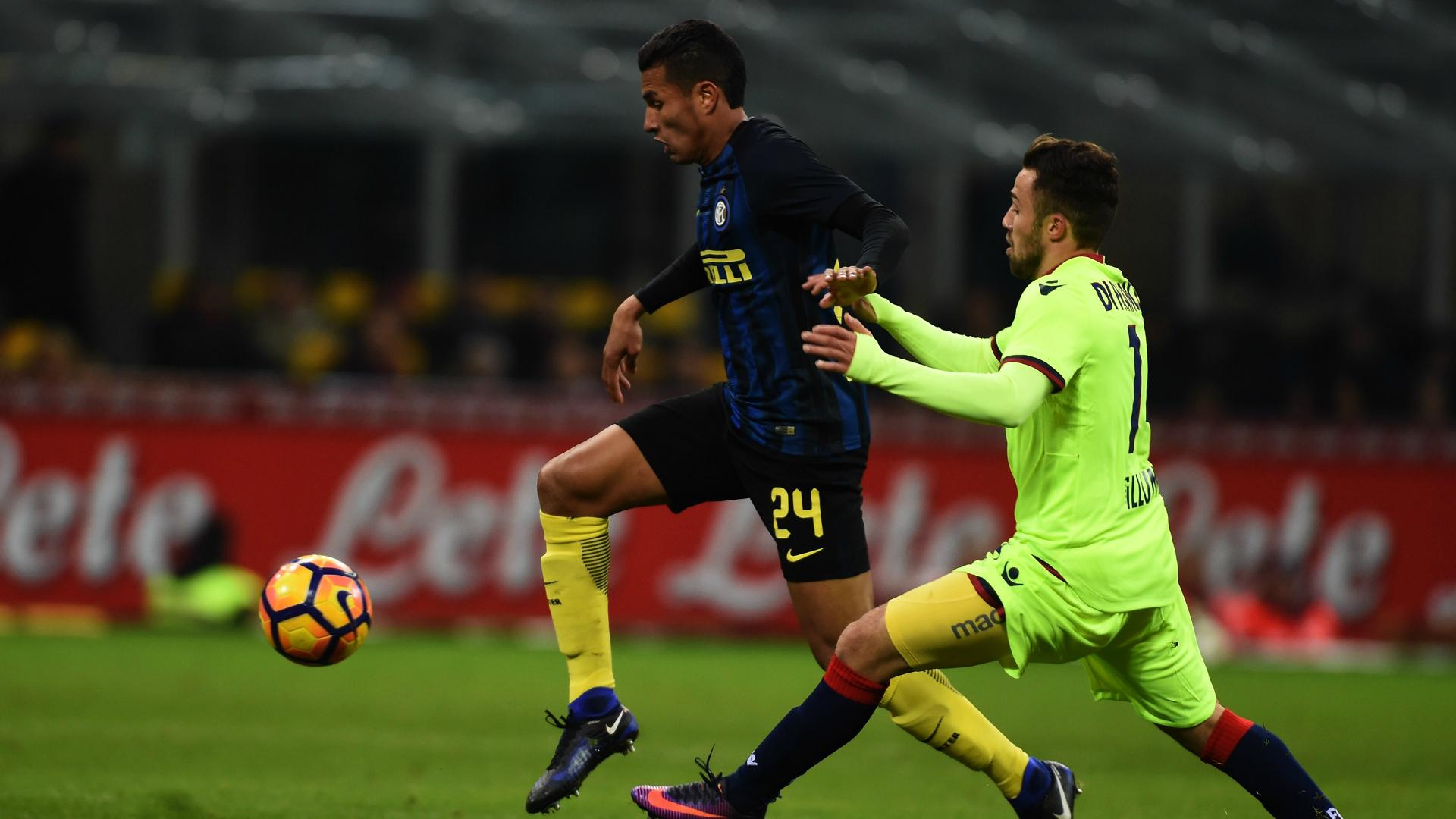 Jeison Murillo Di Francesco Inter Bologna Coppa Italia