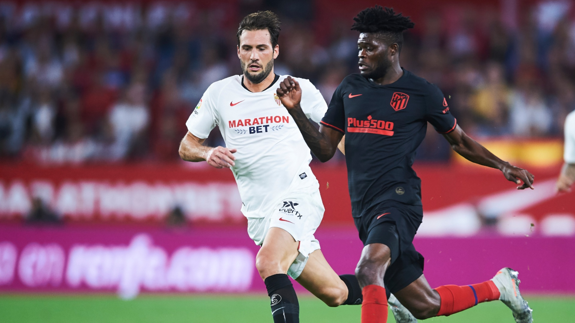Partey's Atletico Madrid claim solitary point at Sevilla