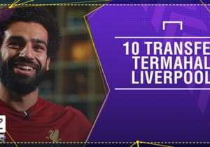 Mohamed Salah resmi menjadi transfer termahal Liverpool sepanjang sejarah. Walau begitu, ada sembilan pemain lain yang memiliki harga tak berbeda jauh dari sang winger. Siapa saja?