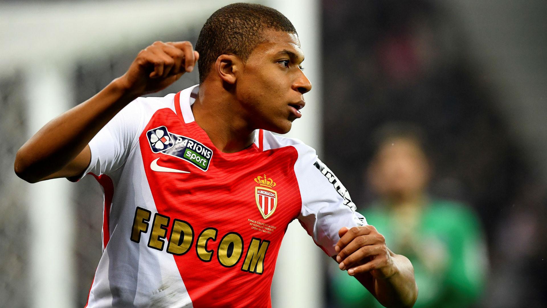 Kylian Mbappe PSG Monaco Coupe de la Ligue 01042017