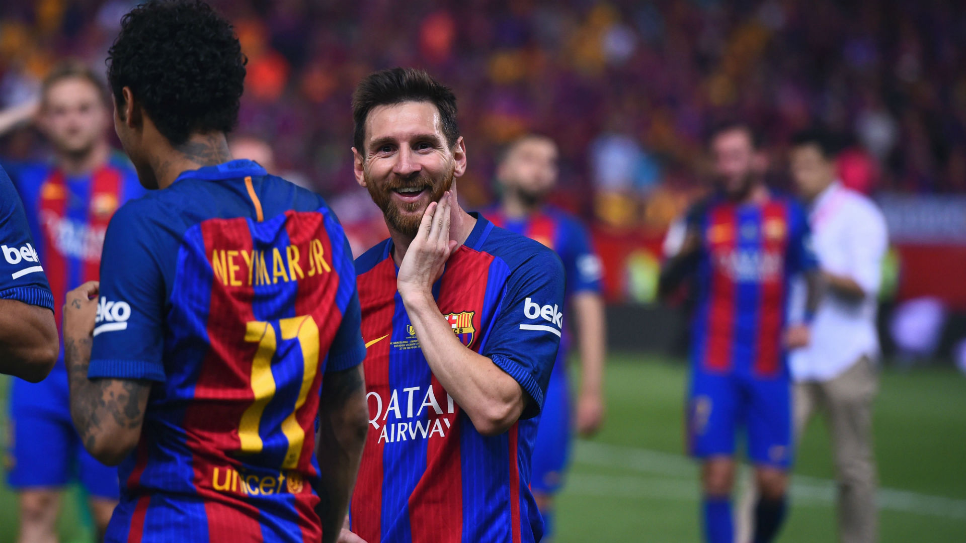 Así fue el festejo de Lionel Messi por su cumpleaños número 30