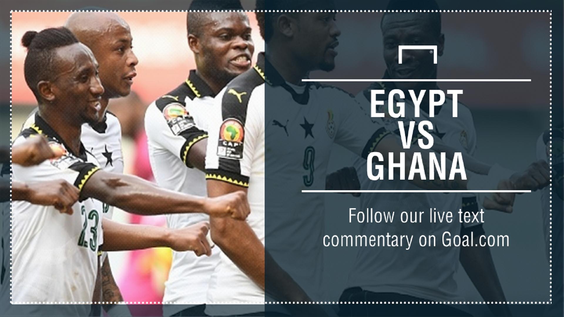 GFX Egypt v Ghana
