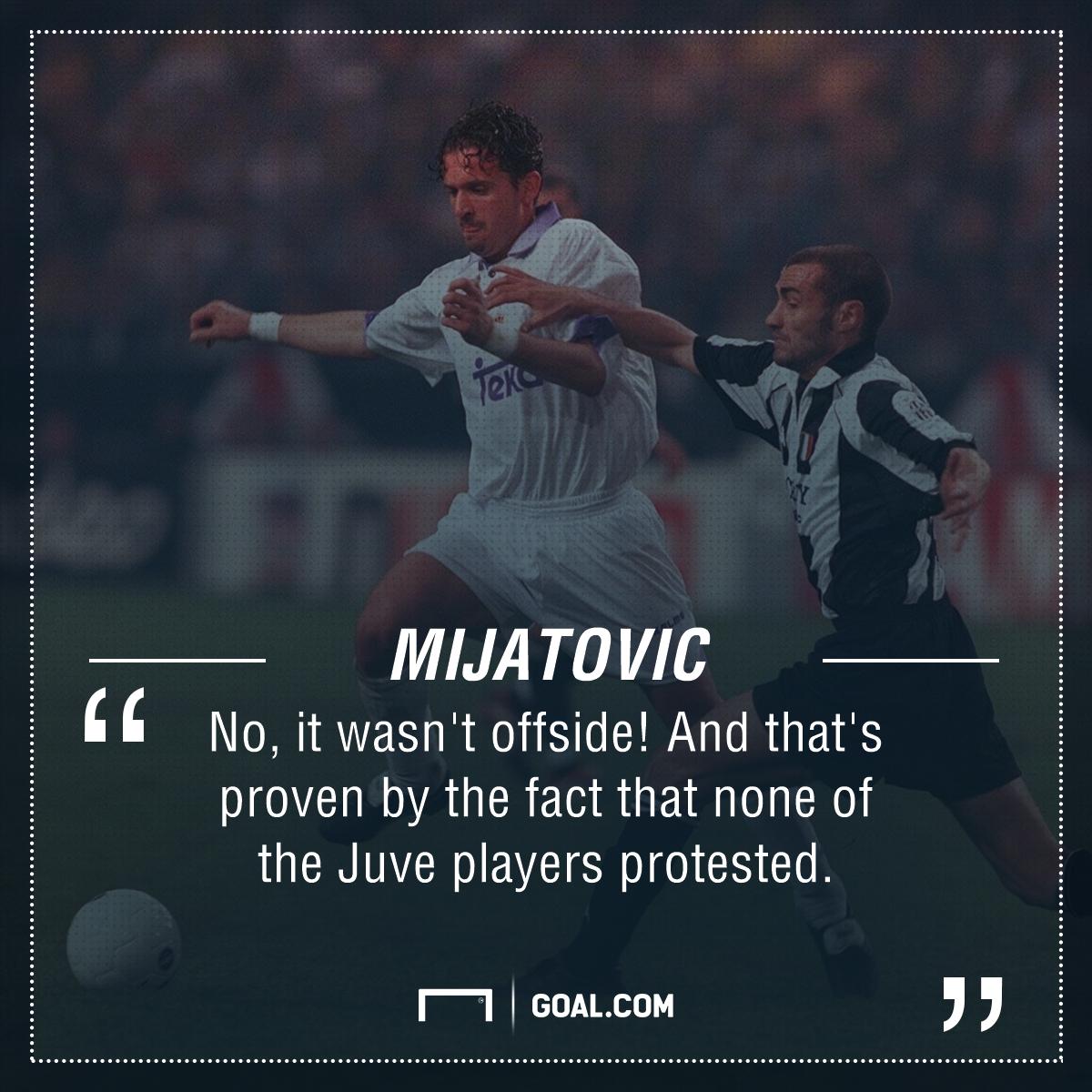 Predrag Mijatovic Real Madrid Juventus PS