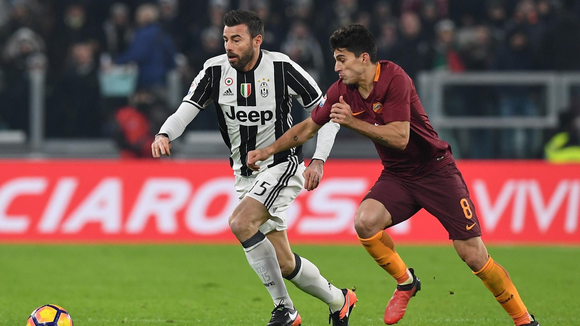 Barzagli Juventus Roma 17122016