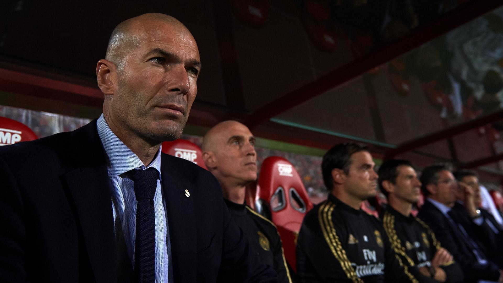 """Real Madrid, Zidane : """"La pression est toujours là"""""""